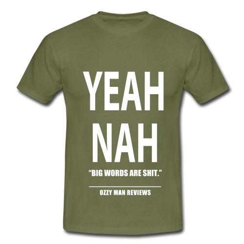 yeahnahedit - Men's T-Shirt