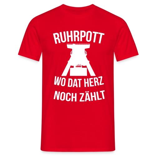 Ruhrpott - Wo dat Herz noch zählt - Männer T-Shirt