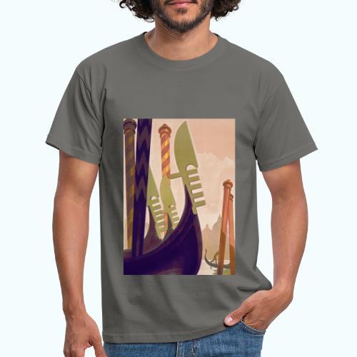 Venice vintage travel poster - Men's T-Shirt