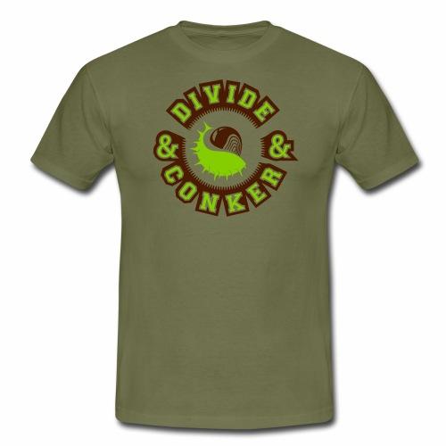 Divide and Conker - Men's T-Shirt