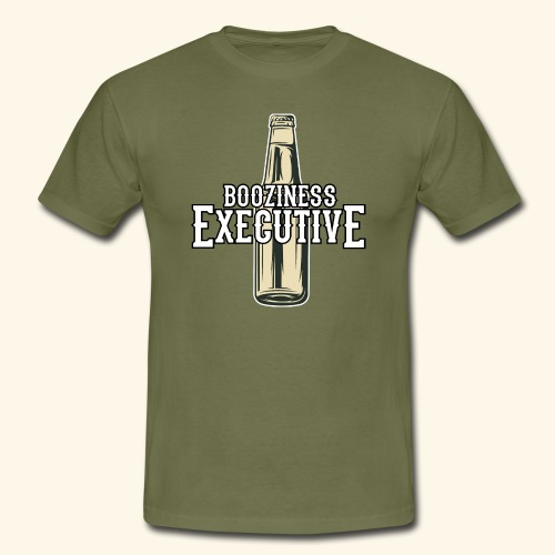 Booziness Executive Bier-T-Shirt - Männer T-Shirt