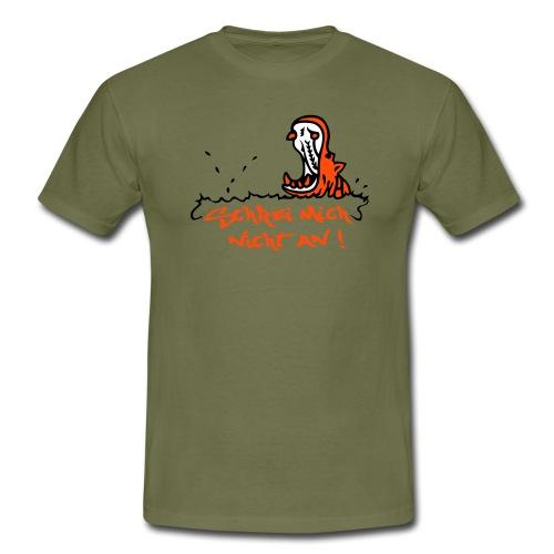 Flusspferd mit Spruch - Männer T-Shirt