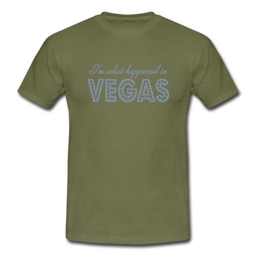 i'm what happened in vegas - Men's T-Shirt