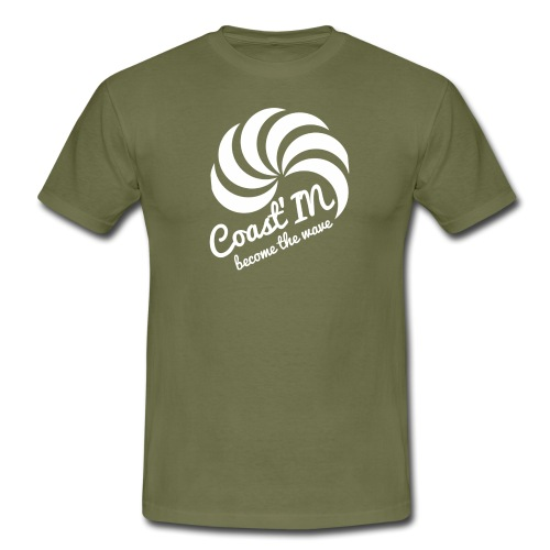 coast p white png - Men's T-Shirt