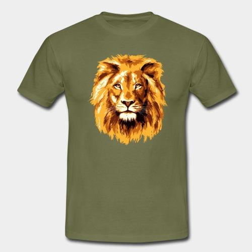 Lion face - Men's T-Shirt