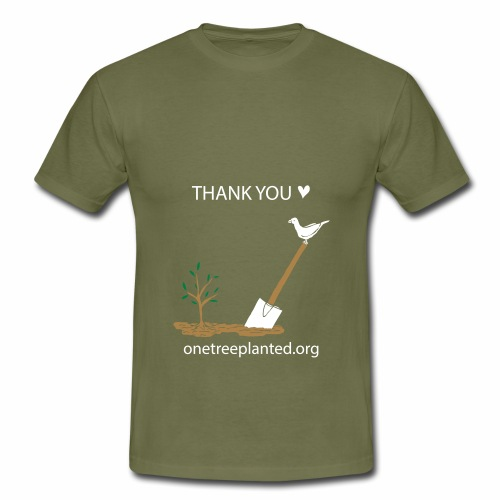 thank you <3 - Men's T-Shirt