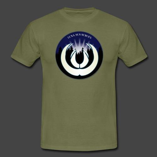 Luna sus scrofa - der Schweinemond von Jägershirts - Männer T-Shirt