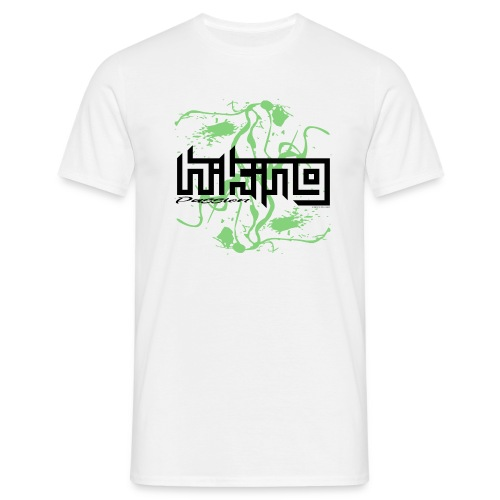 HIKING PASSION traveller textiles, gifts, products - Miesten t-paita