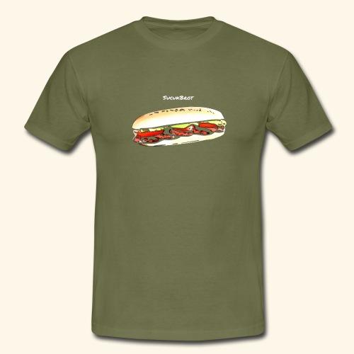Sucuk Brot - Männer T-Shirt