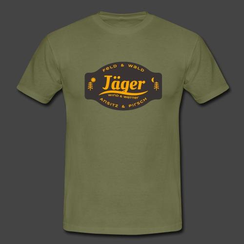 Das Jäger-Shirt für aktive Jäger - Männer T-Shirt