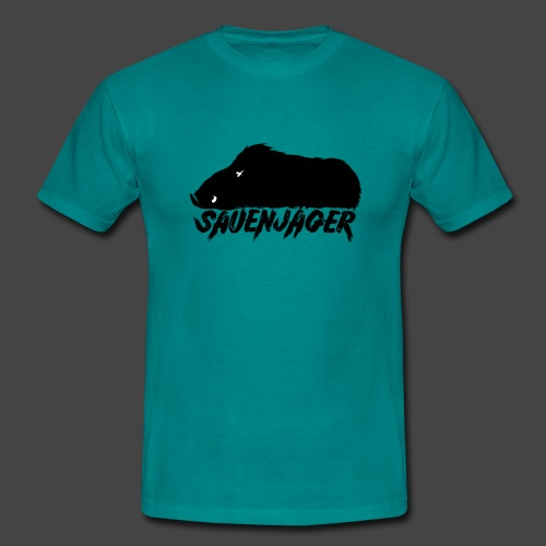 Der Sauenjäger-Shirt für Schwarzkitteljäger - Männer T-Shirt