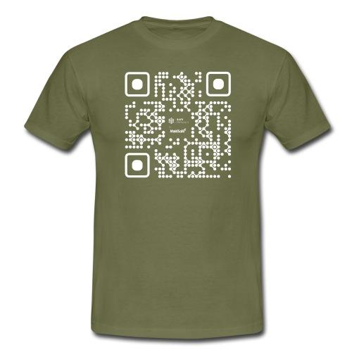 QR - Maidsafe.net White - Men's T-Shirt