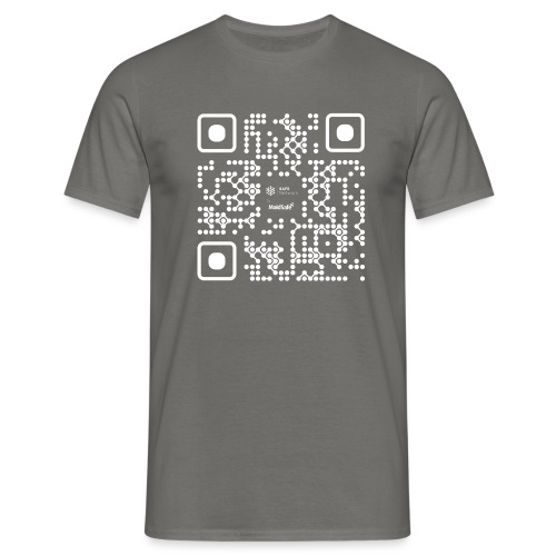 QR - Maidsafe.net White - Men's T-Shirt