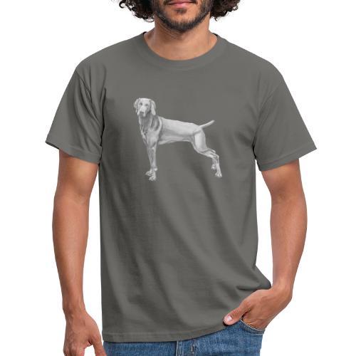 weimaraner - Herre-T-shirt