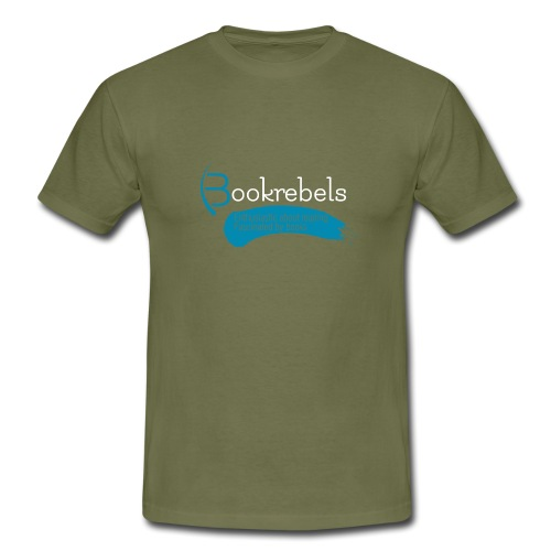 Bookrebels Enthusiastic - White - Men's T-Shirt