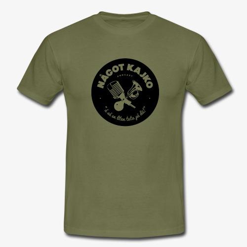 Något Kajko logo BLACK - T-shirt herr