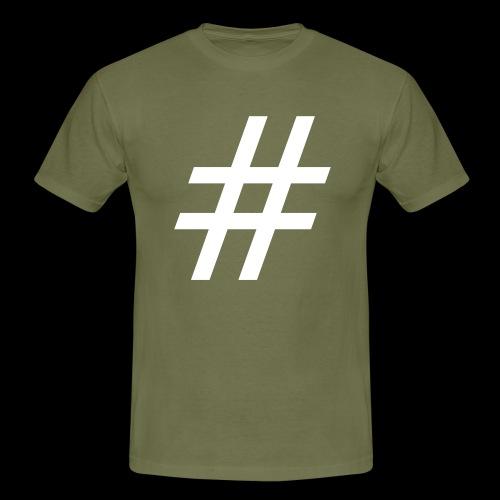 Hashtag Team - Männer T-Shirt