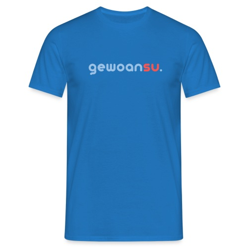 gewoansu - Mannen T-shirt