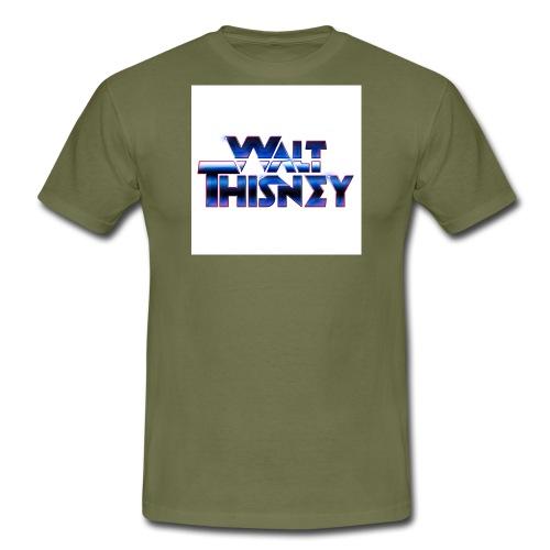 WaltThisneyclearLogo1000 - Men's T-Shirt