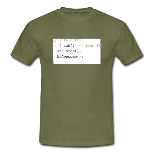 ifsad_Pfade - Men's T-Shirt