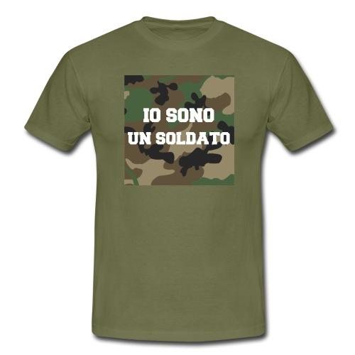 IO SONO UN SOLDATO - Maglietta da uomo