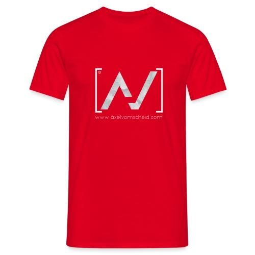 logoalpha blanc - T-shirt Homme