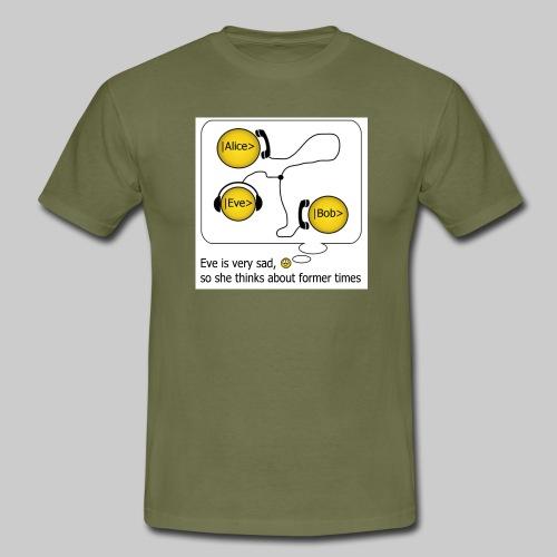 Abhören front - Männer T-Shirt
