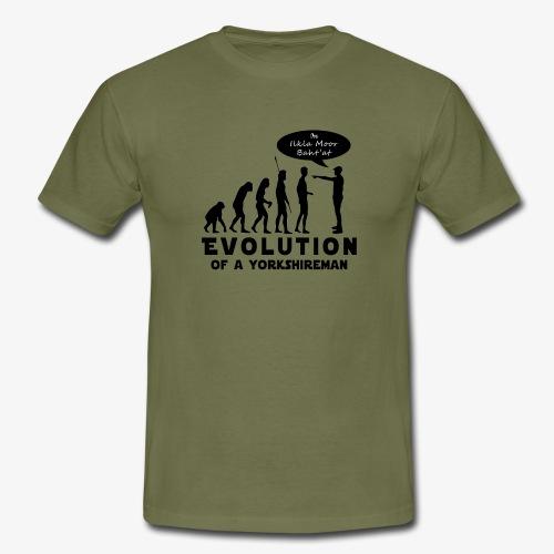 Evolution of a Yorkshireman - Men's T-Shirt