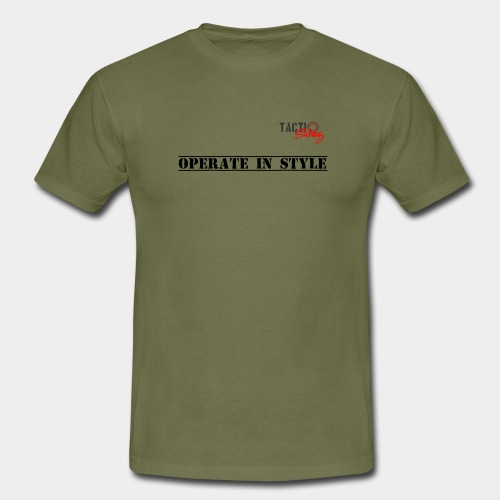 Operate in style - Men's T-Shirt