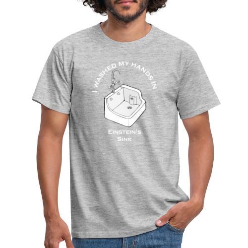 Einstein's Sink - Mannen T-shirt