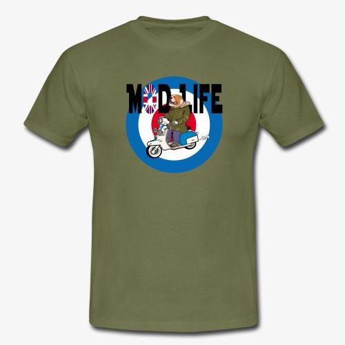 BritishBullDogModLife - Men's T-Shirt