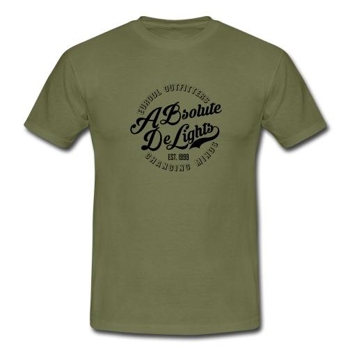 euroDL Retro T-shirt - Black - Mannen T-shirt