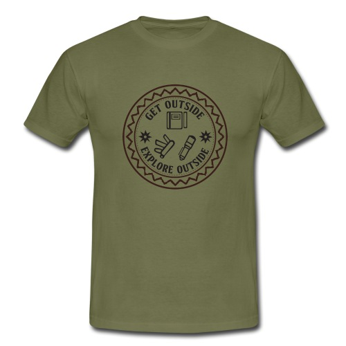 Get Outside - Männer T-Shirt