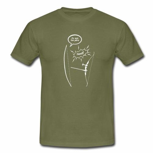 Je suis ton père - Tir a l'arc - archerie - Men's T-Shirt
