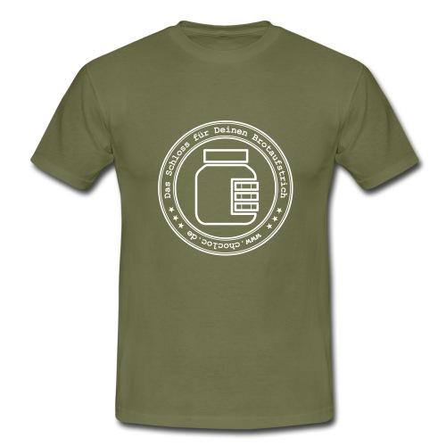 Chocloc - Stempellogo - Männer T-Shirt