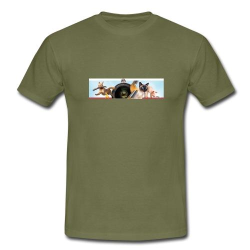 Animaux logo - Mannen T-shirt