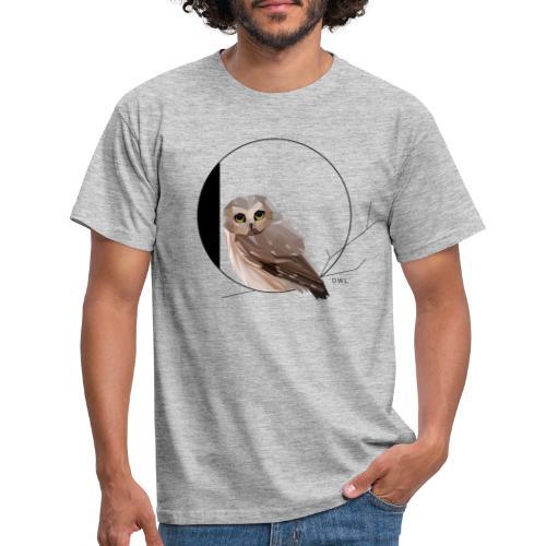 O for Owl - Mannen T-shirt