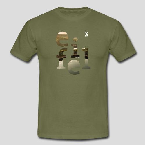 eifel - weiß - Männer T-Shirt