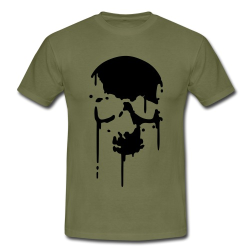 blackskullprint - Men's T-Shirt