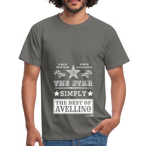 1,03 The Star Legend Avellino Bianco - Maglietta da uomo