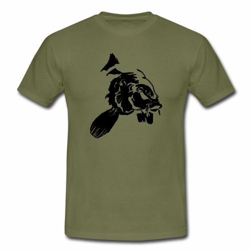 Karpfen_Vektor - Männer T-Shirt