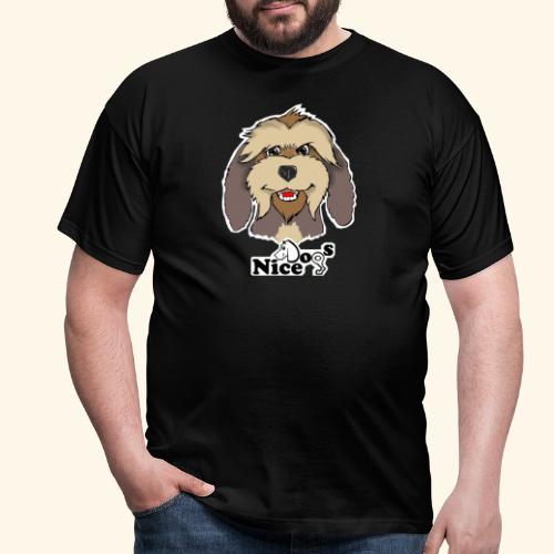 Nice Dogs Pastore Catalano - Maglietta da uomo