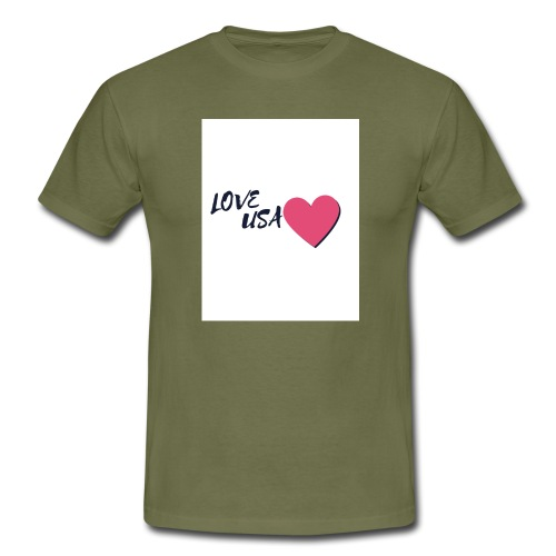 love usa - T-shirt Homme