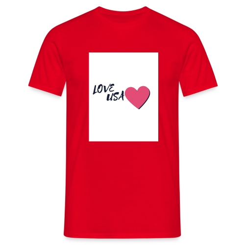 love usa - T-shirt Homme