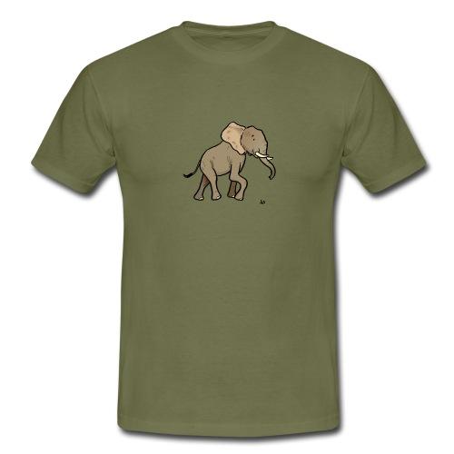 African Elephant - Männer T-Shirt