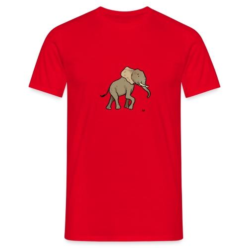 Afrikanischer Elefant - Männer T-Shirt