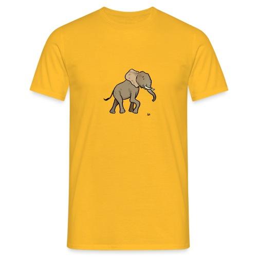 African Elephant - Men's T-Shirt