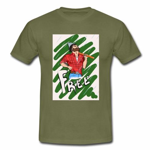 free - Männer T-Shirt