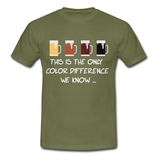 No to racism - Men's T-Shirt