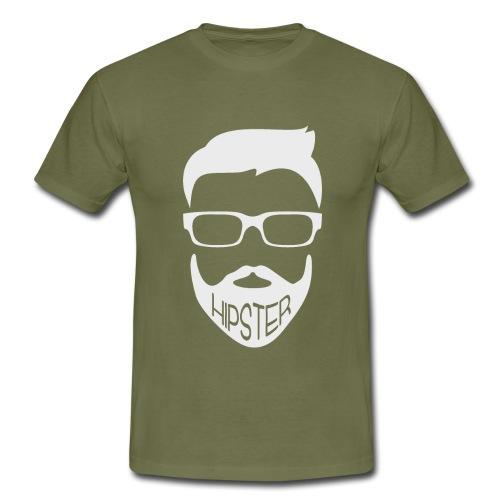 Hipster Bart Vollbart Mann Shirt Geschenk - Männer T-Shirt